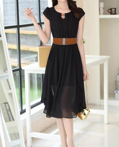 Buckle Wide Stretch Waist Belt