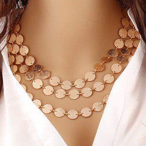 Ethnic Coins Necklace