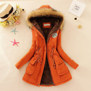 Warm Long Fashion Coat