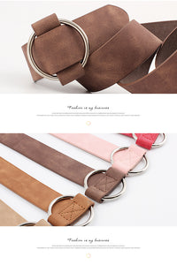 Round Casual Belts
