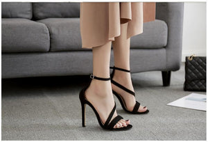 New Fashionable Sexy Design Line Style High Heels