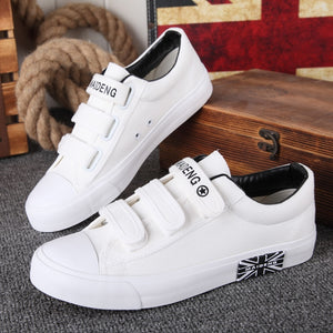 casual lace-up canvas shoes