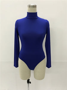 Long sleeve casual bodysuit