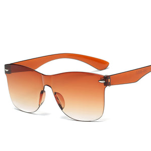 Square Transparent Sunglasses