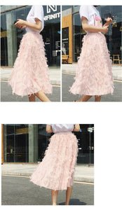 Bubble Tassel Skirt