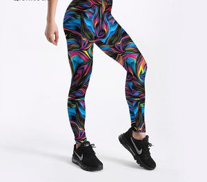 Vortex Printed Leggings