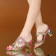 Fashion High Heels Slipper