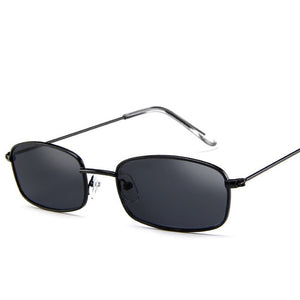 Retro Shades Rectangle Sunglasses
