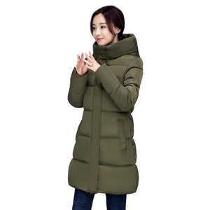 Long Parkas Winter Coat