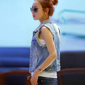 Denim Jacket Slim Coat