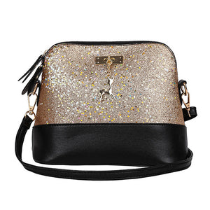 Sequins Leather Bags