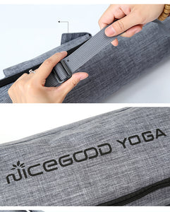 Mat Gym Bag with Side Pockets Waterproof