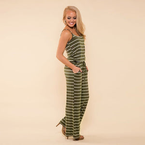 Wide Leg Pants Jumpsuit