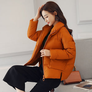 Stand Collar Warm Jacket