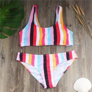 Sexy Rainbow Swimsuit