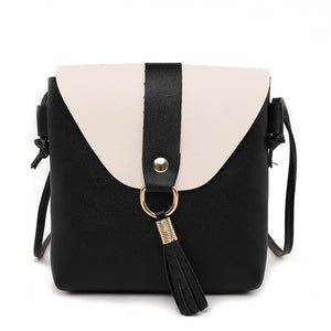 PU Leather Bucket Shoulder Bag