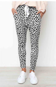 Leopard Print Long Sport Fitness Pants