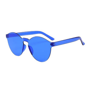 Fashion Oval Sunglasses