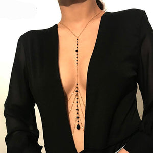 Simple Style Belly Body Chain