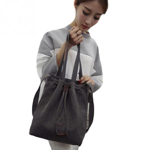 Shoulder Drawstring Handbag