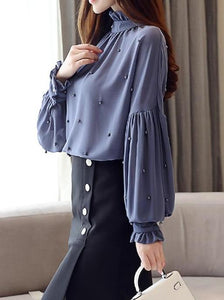 Long sleeve elegant top
