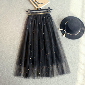 Net yarn skirt