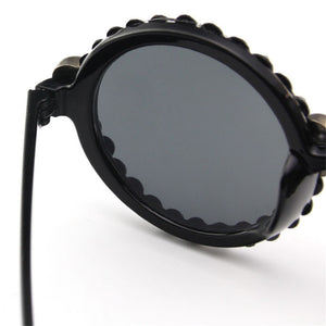 Cat Eye Skull Sun Glasses