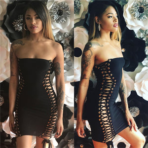 Sexy Off Shoulder Bandage Dress