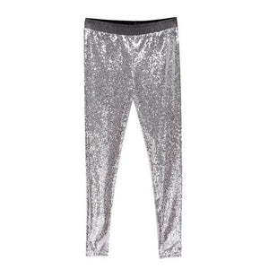 Sparkle Metallic Pants