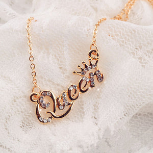 Rose Golden Queen Necklace