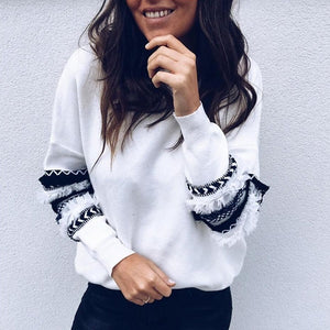 Long Sleeve O-Neck Sweatshirts