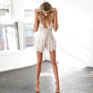 Sexy Lace Elegant Playsuit