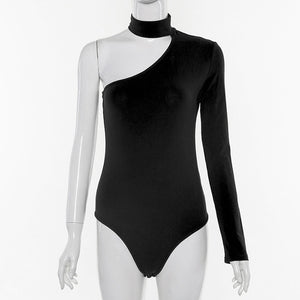 One Shoulder Sexy  Bodysuit