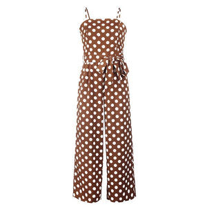 summer long pants elegant jumpsuit