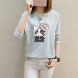 cat long sleeve t shirt