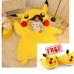 FREE* Pikachu Bed + Pikachu Slippers