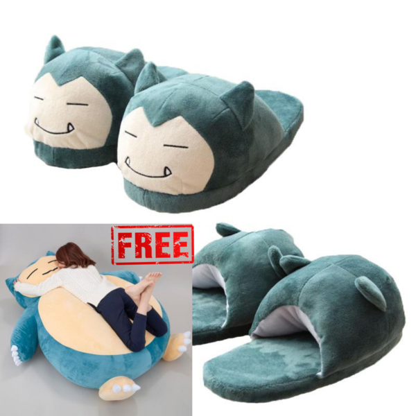 *FREE Snorlax Bean Bag + Snorlax Slippers