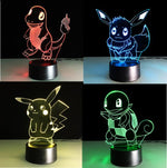 Colourful Pokemon LED
