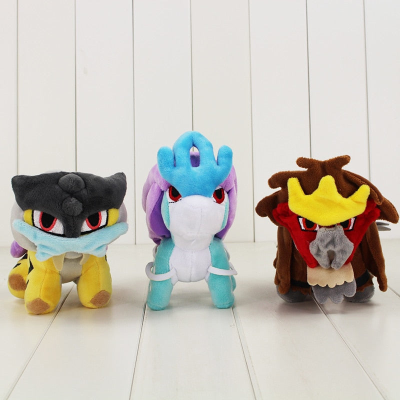 ENTEI / SUICUNE / RAIKU PLUSH