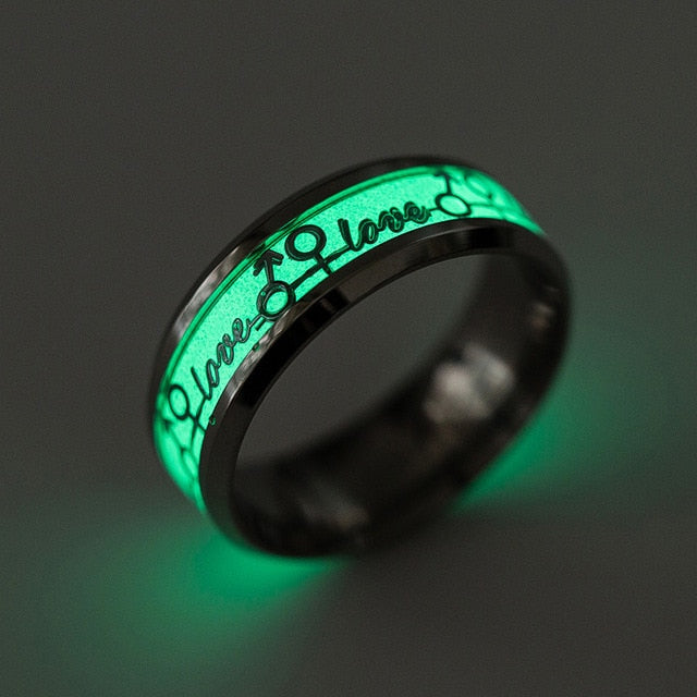 Titanium Glow Ring ALMOST SOLD OUT