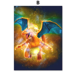 Pokemon Legendary Canvas