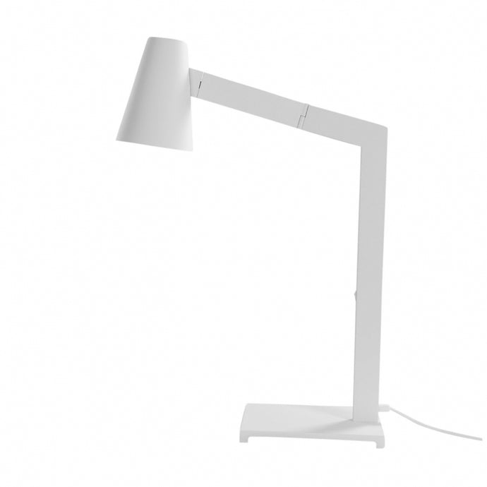Tilt Table Lamp White