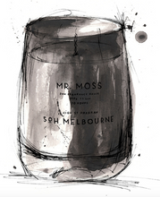 Load image into Gallery viewer, MR MOSS MATTE BLACK CANDLE