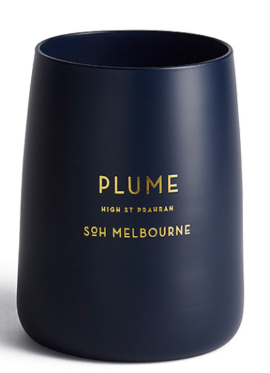 PLUME MATTE NAVY CANDLE