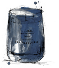 Load image into Gallery viewer, PLUME MATTE NAVY CANDLE
