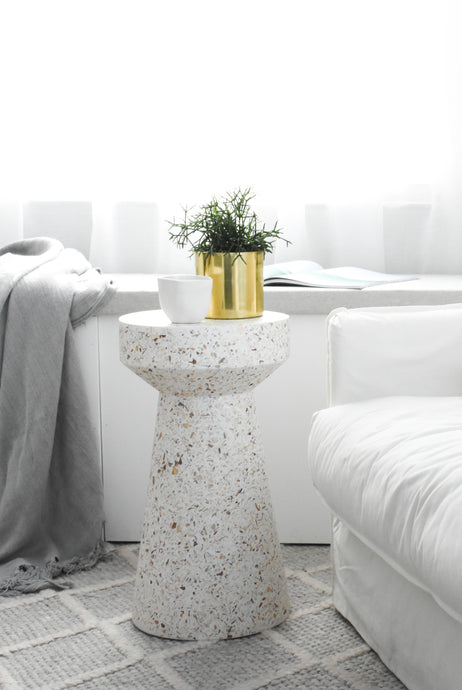 Empire Side Table - Pearl
