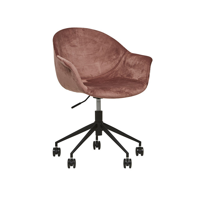 Daisy Velvet Office Chair