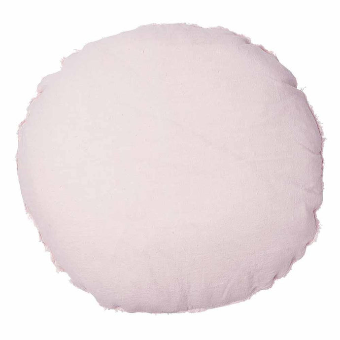 Lulu Round Cushion - Soft Pink