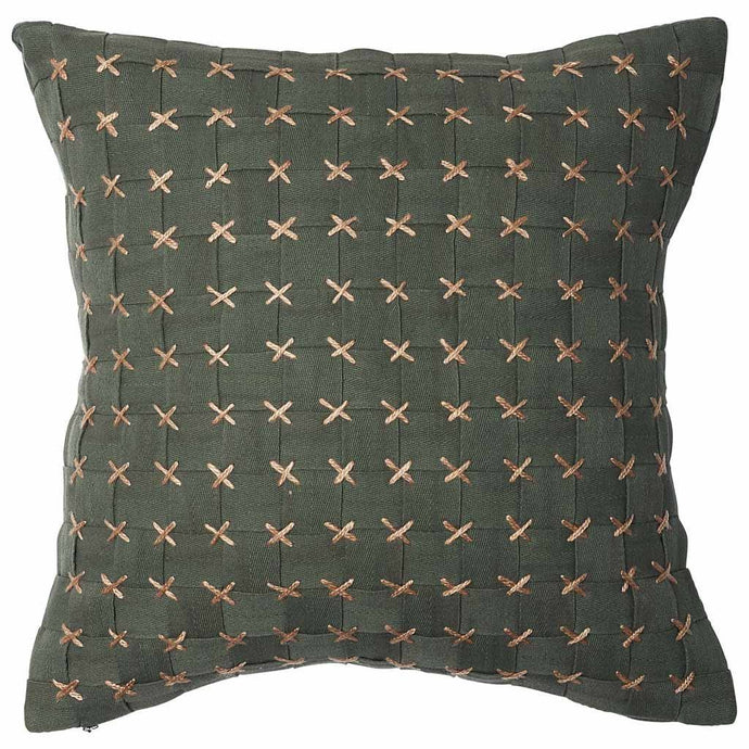 Flette Cushion Eadie Lifestyle Khaki