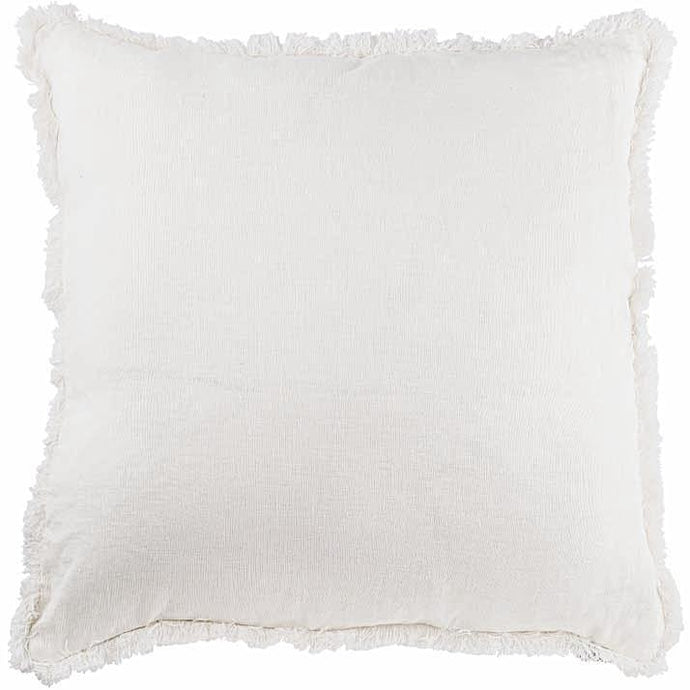 Luca Boho Cushion Eadie Lifestyle White